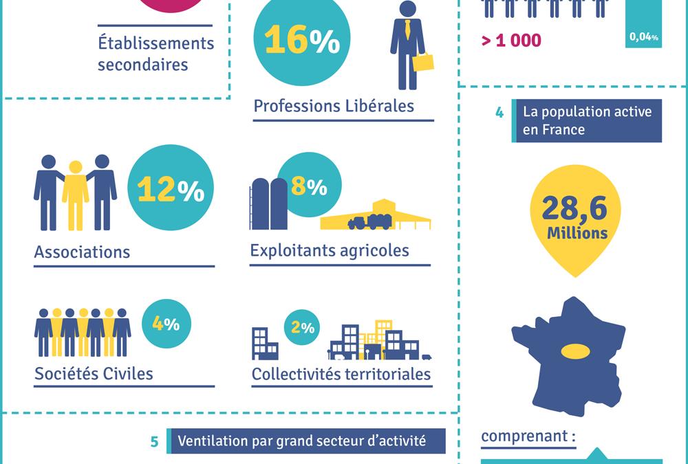 Fiche pratique BtoB n°3 – Les chiffres clés des entreprises en France